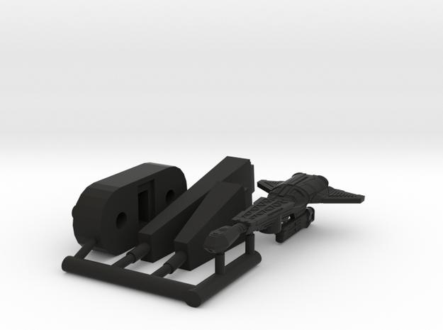 6k D-14A Stinger in Black Natural Versatile Plastic