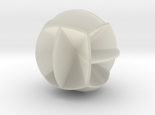 DRAW geo - sphere 12 cut outs 3d printed