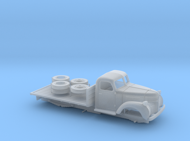 1:56 - Dodge flatbed (right hand drive) in Smooth Fine Detail Plastic