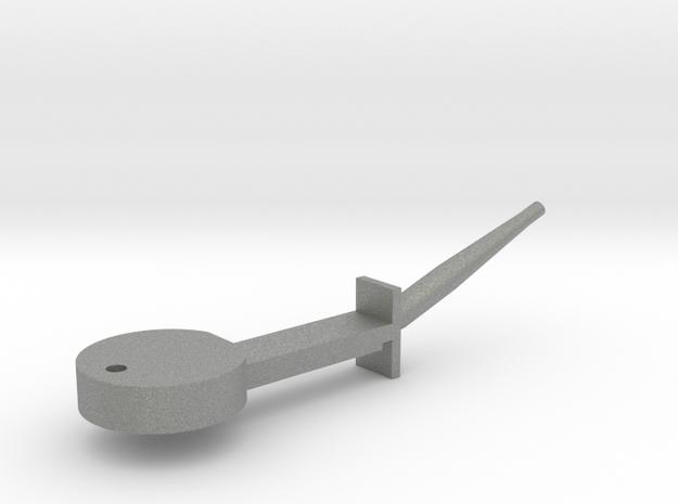 nozzle_lever in Gray PA12
