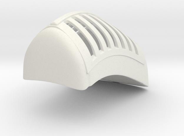 1/8 Gladiator Grille in White Natural Versatile Plastic