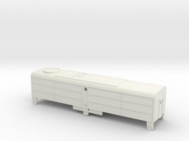 Z-Scale Alco FB-1 Shell in White Natural Versatile Plastic