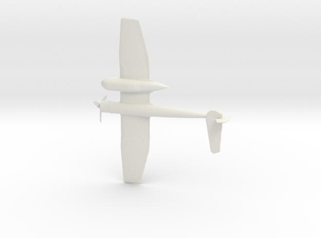 1:200 BV-141 (Gear Down) in White Natural Versatile Plastic