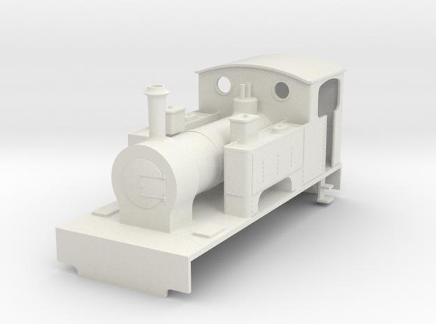 b-55-redlake-kerr-stuart-1228-0-4-2T-loco in White Natural Versatile Plastic