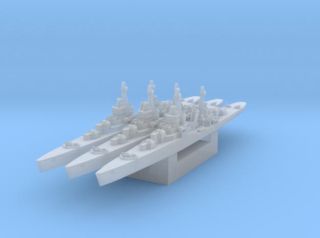 Soviet light cruiser MLK-8-130 1/4800 in Smooth Fine Detail Plastic