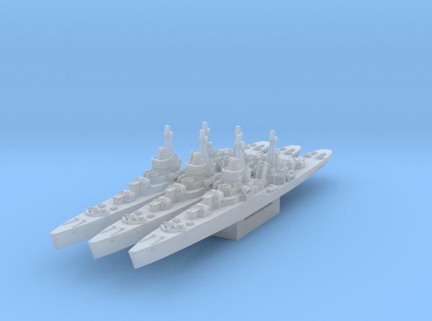 Soviet light cruiser MLK-8-130 (Axis & Allies) in Smooth Fine Detail Plastic