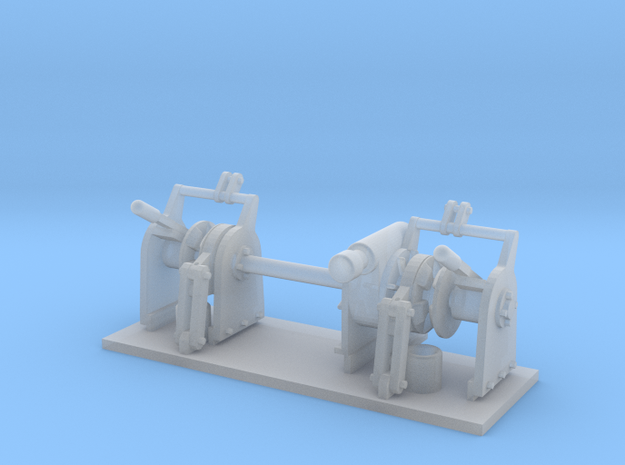 SHOALBUSTER 2609 - Anchorwinch (1pc) in Smooth Fine Detail Plastic