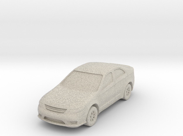 """Car at 1""""=8' Scale in Natural Sandstone"""
