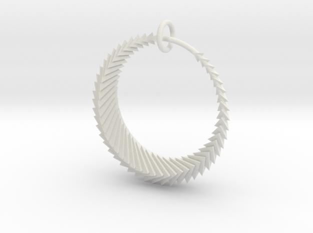 Luna5r in White Natural Versatile Plastic