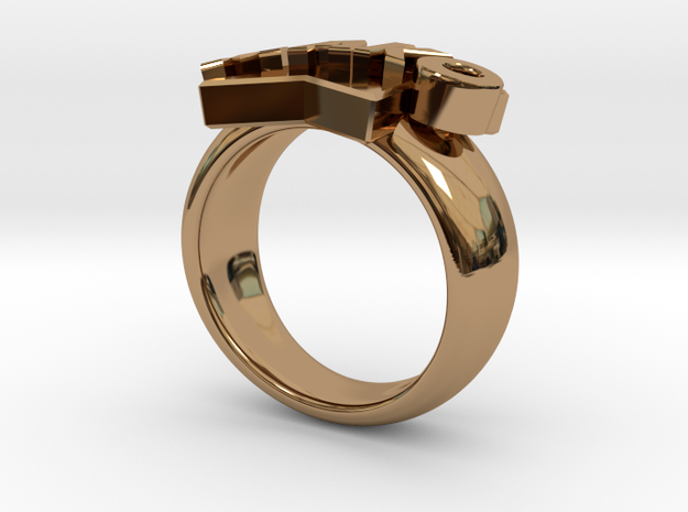Mako-nuckle Ring 3d printed