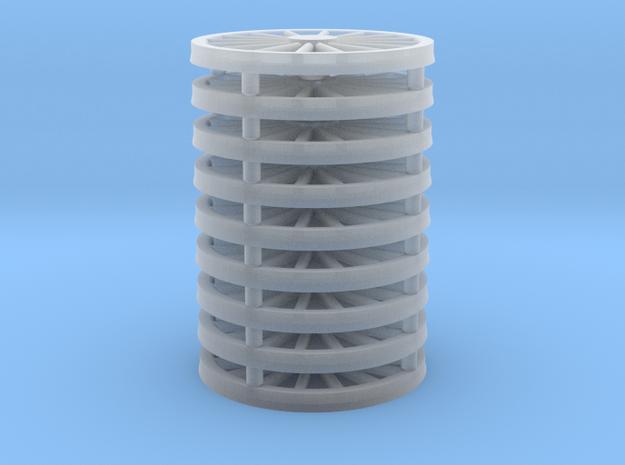 NS1000 spaakwiel kapjes in Smoothest Fine Detail Plastic