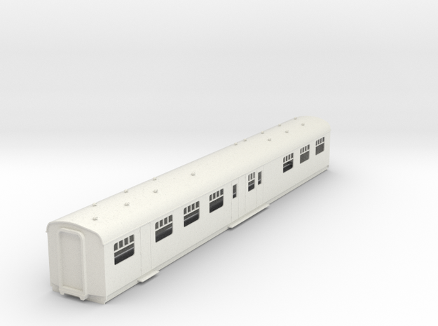 o-43-cl203-Hastings-DEMU-TRB-trailer-buffet-coach in White Natural Versatile Plastic