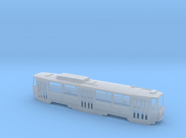 Tatra T6A5 H0 [body] in Smooth Fine Detail Plastic