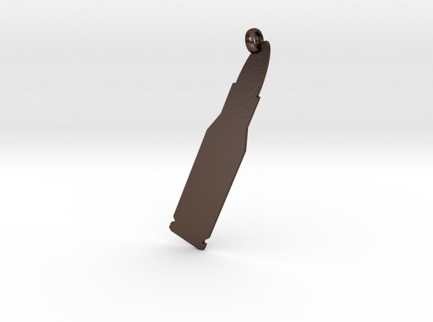 Rifle cartridge (.223 Remington) charm 3d printed
