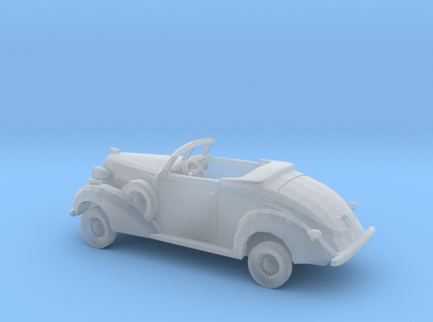 1/87 1936 Buick Roadmaster Convertible Kit in Smooth Fine Detail Plastic