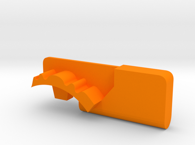 Warthog throttle part - Airbus in Orange Processed Versatile Plastic
