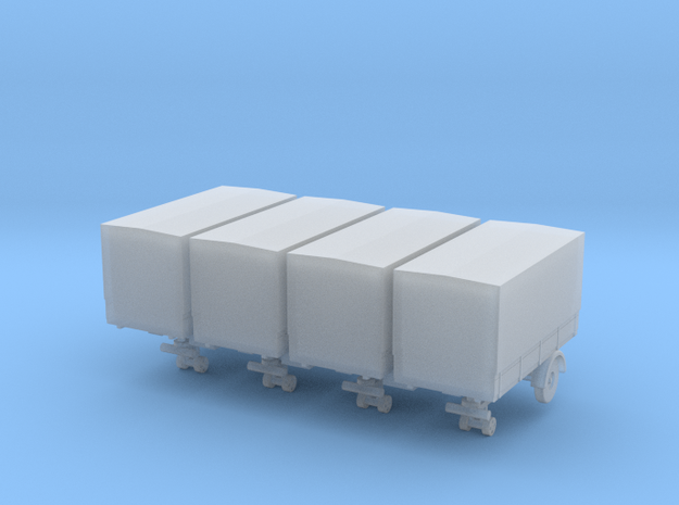 mh3-trailer-13ft-6ft-covered-van-148fs-1-x4 in Smooth Fine Detail Plastic
