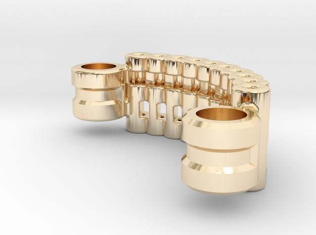 Custom Request - Graflex Mentor Power Compler in 14k Gold Plated Brass
