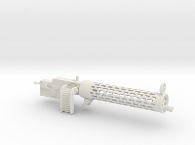 Spandau gun 1/7scale in White Natural Versatile Plastic