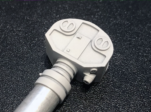 Moebius EVA Pod Arms, Version 2A in Smooth Fine Detail Plastic