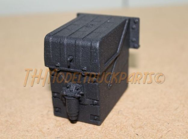 THM 20.403002 Battery box MAN in Black Natural Versatile Plastic