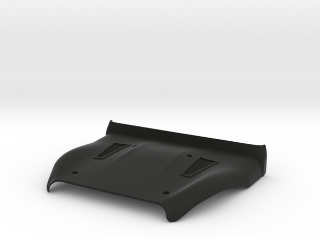 Vanquish Ripper Hood by SuperShafty in Black Natural Versatile Plastic