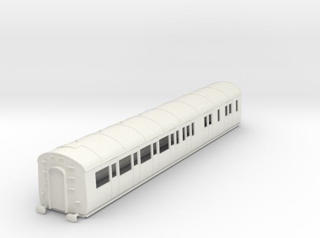 o-43-gwr-d95-rh-brake-3rd-coach in White Natural Versatile Plastic