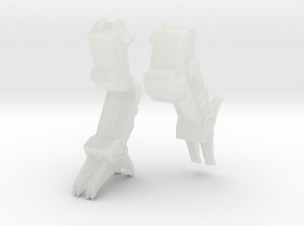 C-SAV-0 Savitri Legs - running/jumping #2 in Smooth Fine Detail Plastic