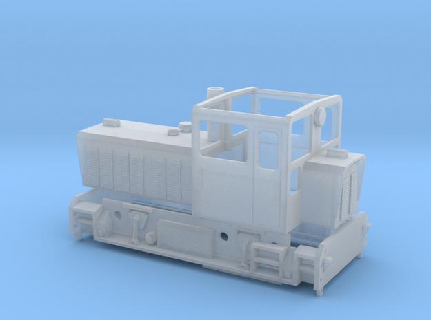 Wangerooger Inselbahn 399 107 / 399 108 in Smooth Fine Detail Plastic: 1:120 - TT