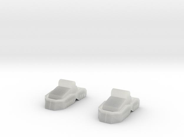 TRO3063 - PV-1K/PV-2L feet in Smooth Fine Detail Plastic