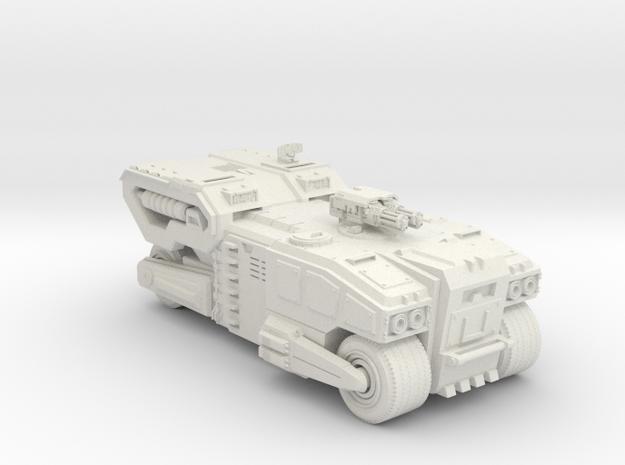 APC Vehicle in White Natural Versatile Plastic