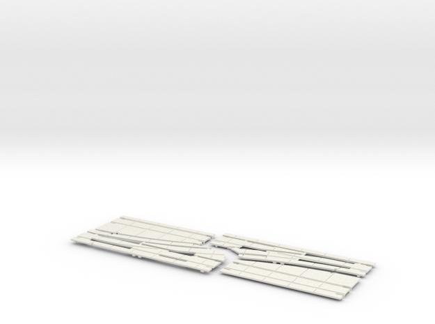 2020 CROSSOVER DBL 2 CENTER LEFT in White Natural Versatile Plastic