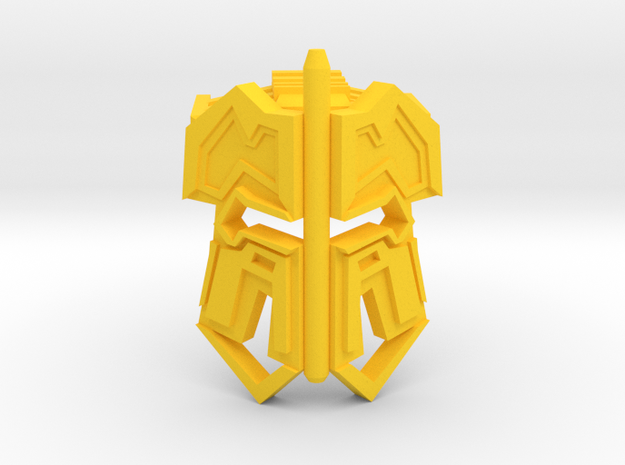 Yxtrion in Yellow Processed Versatile Plastic