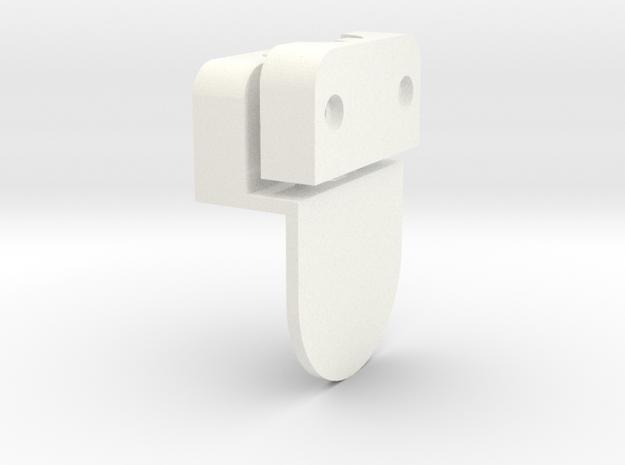 S1-    Adapter für Umbau ESU-Raucheinsatz in White Processed Versatile Plastic