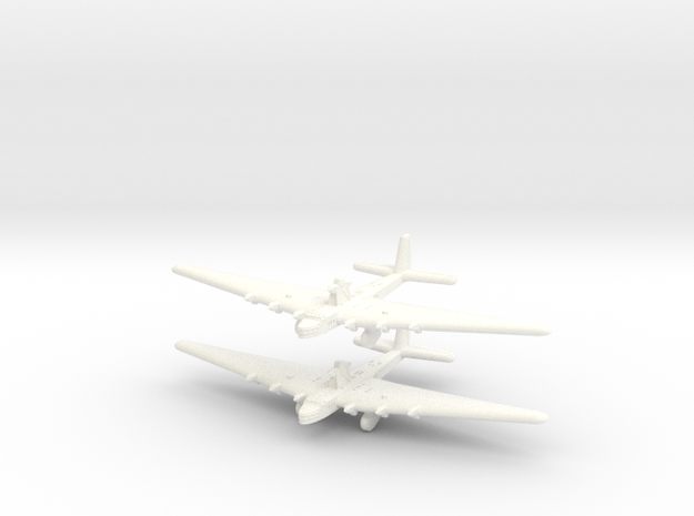 Tupolev Ant-20 Russian Transport/Bomber -Global Wa in White Processed Versatile Plastic