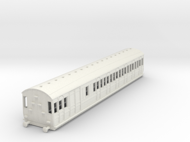 o-76-met-dreadnought-brake-3rd-6c-coach in White Natural Versatile Plastic