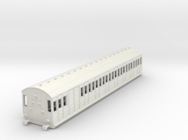 o-87-met-dreadnought-brake-3rd-coach in White Natural Versatile Plastic