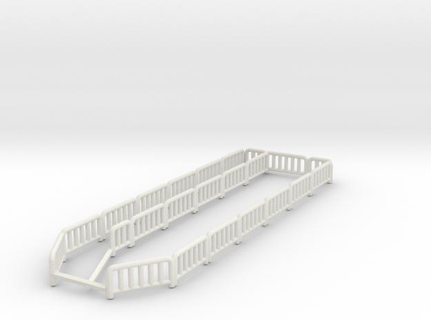 slide fence in White Natural Versatile Plastic