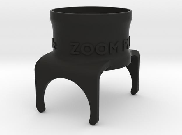 M2-Zoom-X3+ in Black Natural Versatile Plastic