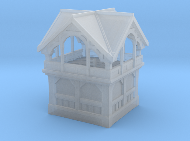 Small tower in Smooth Fine Detail Plastic