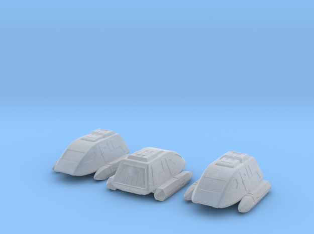 Shuttlepod (late 24th century) 1/700 x3 in Smooth Fine Detail Plastic