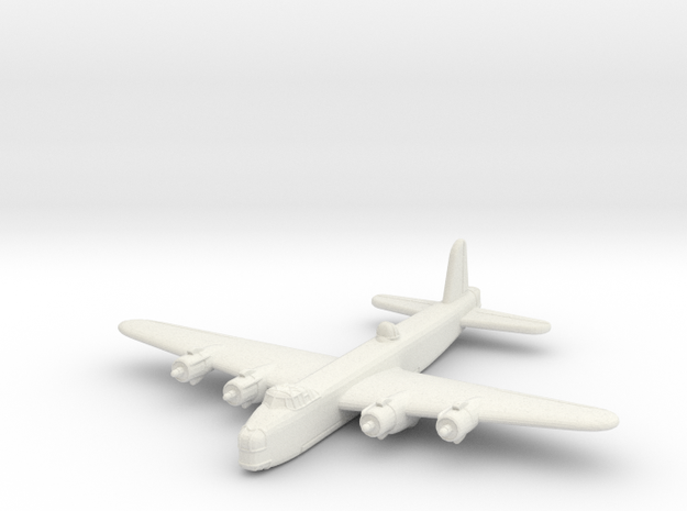 Short Stirling (1/285) in White Natural Versatile Plastic