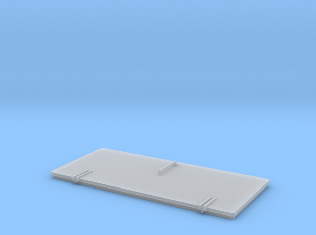door standard 44,5x21mm in Smoothest Fine Detail Plastic