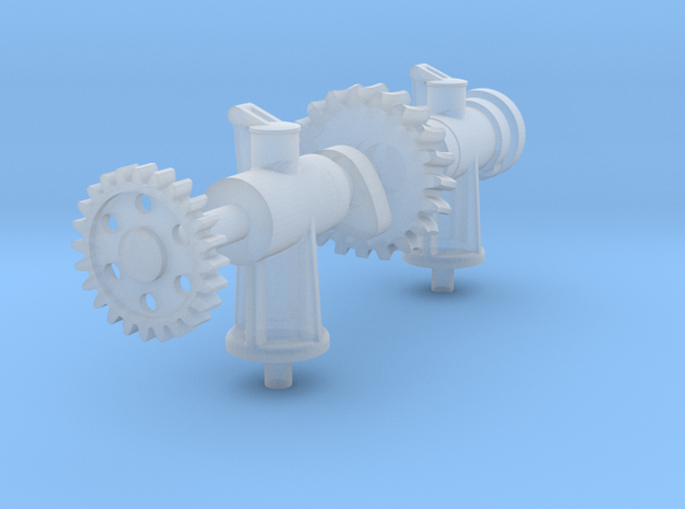 Camshaft Asy- Hicks Marine Engine in Smooth Fine Detail Plastic: 1:12