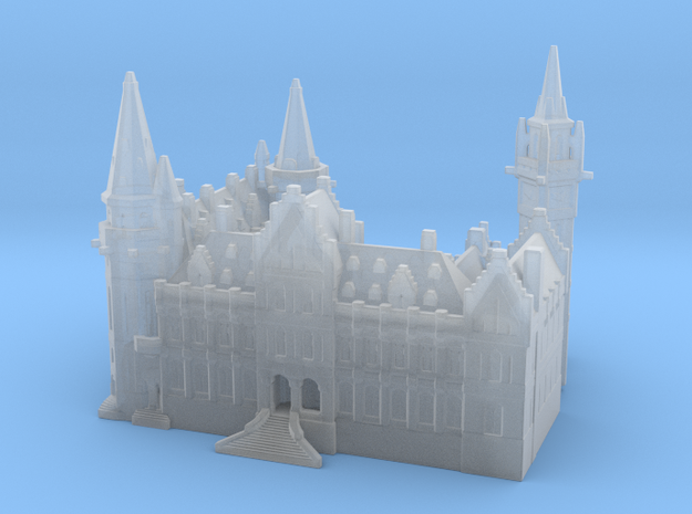 Town hall in Smooth Fine Detail Plastic