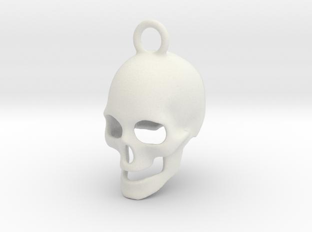 Skull 2003211730 in White Natural Versatile Plastic