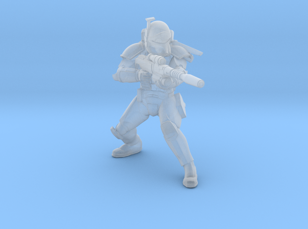 Rough Rider Sniper in Smooth Fine Detail Plastic