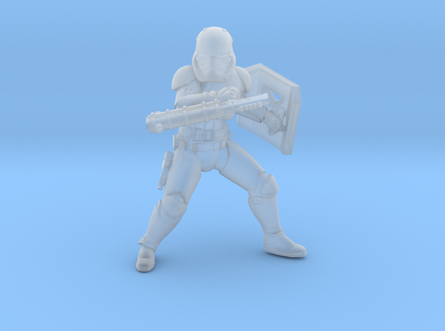 Sovereign riot Trooper in Smooth Fine Detail Plastic