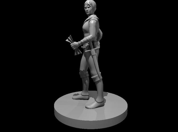 Human Female Forgery Rogue in Smooth Fine Detail Plastic