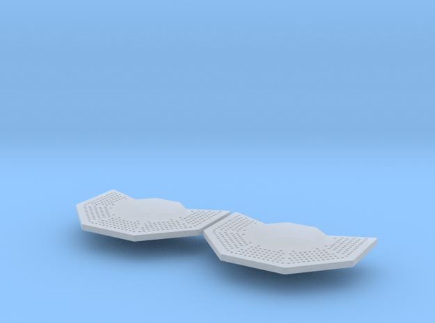 1/72 PerryGun Mount Ver 3 in Smooth Fine Detail Plastic